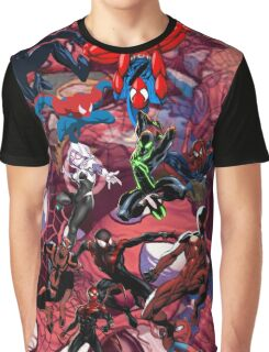 Spider Verse Graphic Tee Graphic T-Shirt