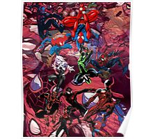 Spider Verse Graphic Tee Poster