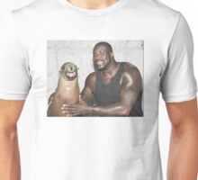 Shaq and Sea Lion Unisex T-Shirt