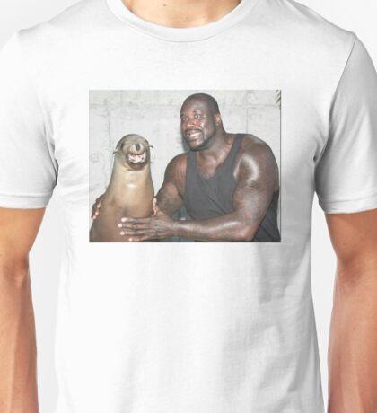 Shaq and Sea Lion Unisex T-Shirt