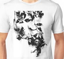 Black leaves Unisex T-Shirt