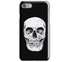 Skully's black and white Skull iPhone Case/Skin