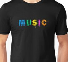 music colorful Unisex T-Shirt