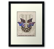 Ghost Coats. Framed Print