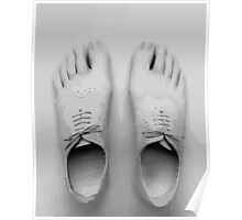 Shoes feet! Poster