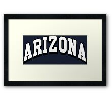Arizona Classic AZ Framed Print