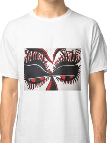 Creepy Aliens on Eye Lashes  Classic T-Shirt