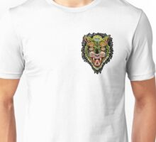 Traditional Tiger Monster Diamond Tattoo Design Unisex T-Shirt