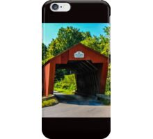 Cooley Covered Bridge iPhone Case/Skin