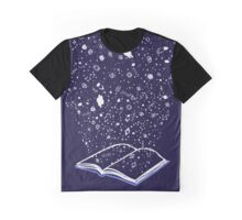 BOOK GALAXY Graphic T-Shirt
