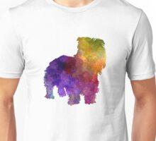 Irish Glen of Imaal Terrier in watercolor Unisex T-Shirt