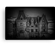 Adams Family Mansion Canvas Print