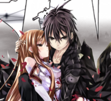 Asuna and Kirito Sticker