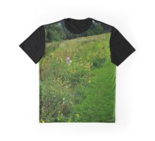 Wild Flowers in the Park Graphic T-Shirt