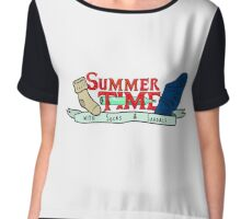Summer Time - Adventure time parody  Chiffon Top