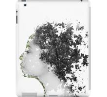 Double Exposure Portrait iPad Case/Skin