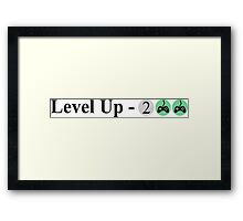 Level Up - Xbox Framed Print