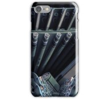 Temple at night in Seoul iPhone Case/Skin
