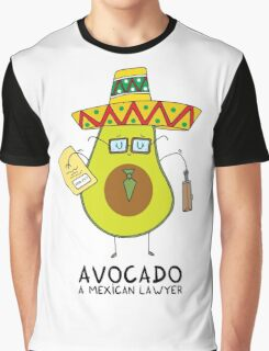 Avocado - A mexican lawyer Graphic T-Shirt