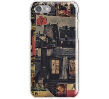 A Walk in the City, a Walk on the Wild Side iPhone Case/Skin