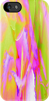 Color Abstract (iPhone Case) by AuntDot