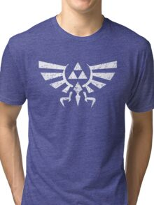Zelda Triforce Symbol Tri-blend T-Shirt