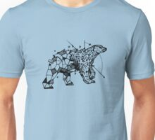 Low poly bear reveal Unisex T-Shirt