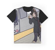 Catching the A train Graphic T-Shirt