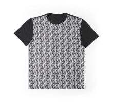 Uzi-n-Gren #01 / Seamless Pattern / Black Graphic T-Shirt