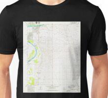 USGS TOPO Map Arizona AZ Davis Dam SE 311093 1970 24000 Unisex T-Shirt