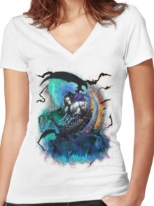 Darksiders 2 Women's Fitted V-Neck T-Shirt