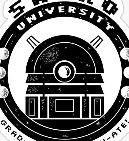 Dalek College Sticker