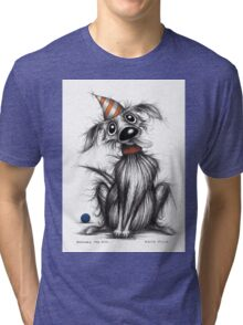 Bernard the dog Tri-blend T-Shirt