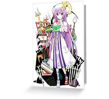 Touhou - Patchouli Knowledge Greeting Card