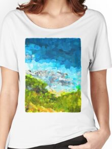 Water on the Rocks 1 Women's Relaxed Fit T-Shirt