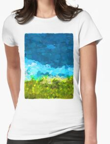 Water on the Rocks 2 Womens Fitted T-Shirt