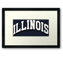 Illinois Classic IL Framed Print