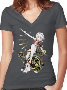 Touhou - Sakuya Izayoi Women's Fitted V-Neck T-Shirt