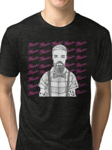 Mister Hipster! Tri-blend T-Shirt