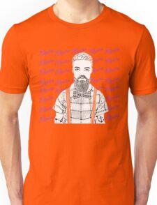 Vintage Hipster! Unisex T-Shirt