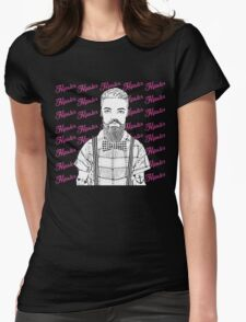 Mister Hipster! Womens Fitted T-Shirt