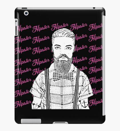 Vintage Hipster! iPad Case/Skin