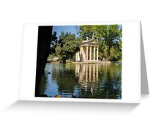 Rome - Temple of Aesculapius Greeting Card