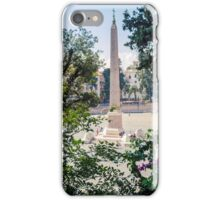 Obelisk in Rome iPhone Case/Skin