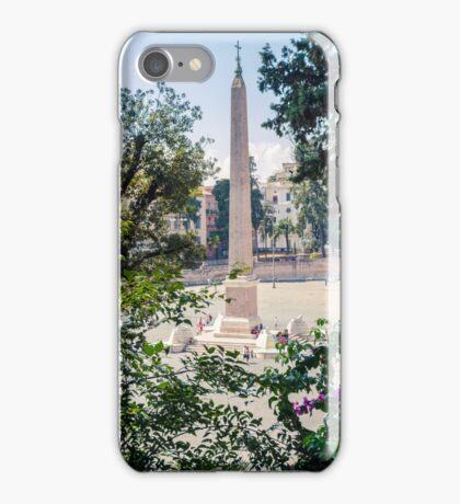 Obelisk in Rome iPhone Case/Skin