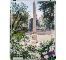 Obelisk in Rome iPad Case/Skin