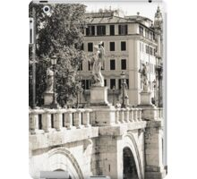 Rome - Ponte Sant'Angelo iPad Case/Skin