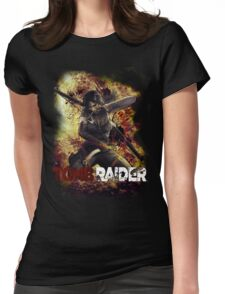 Tomb Raider Womens Fitted T-Shirt