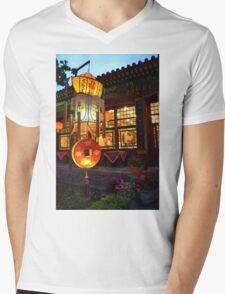 Bai Family Mansion Mens V-Neck T-Shirt