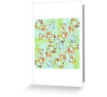 20160916 orange in the green no. 2 Greeting Card